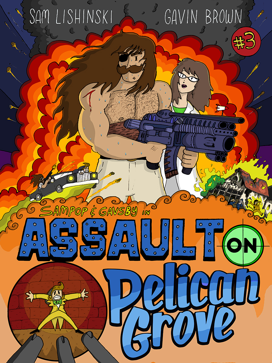 Assault on Pelican Grove - Cover