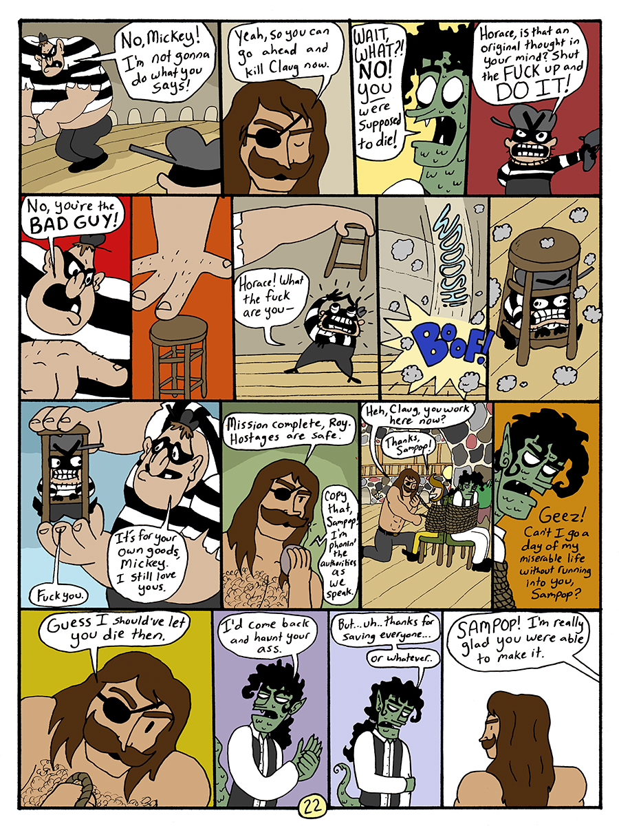 Assault on Pelican Grove - Page 22